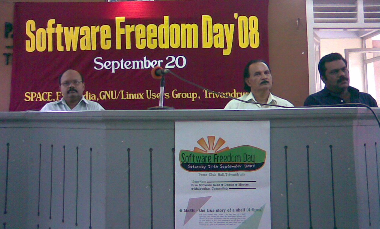 25th software freedom celebration